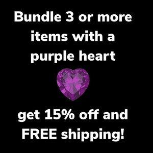 Huge Sale!  Look for Purple Heart!